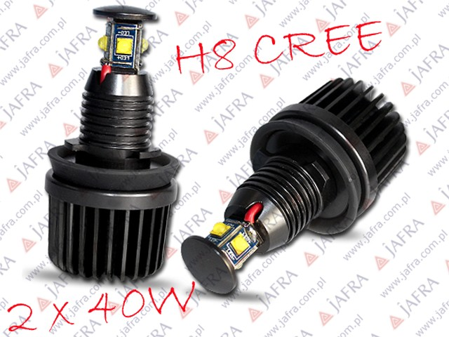 LED H8 CREE XTE RINGI BMW